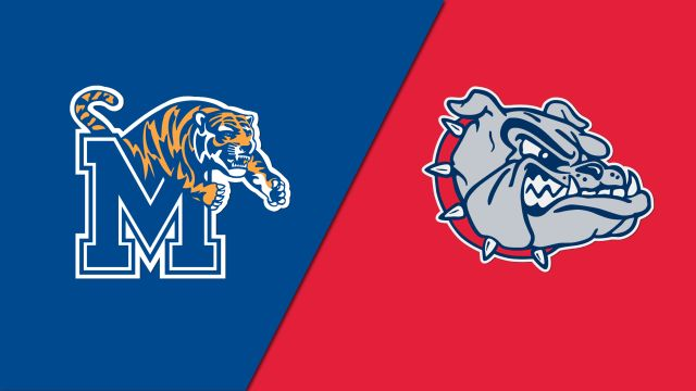 Memphis Tigers vs. Gonzaga Bulldogs