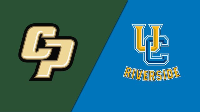 Cal Poly vs. UC Riverside (M Basketball)
