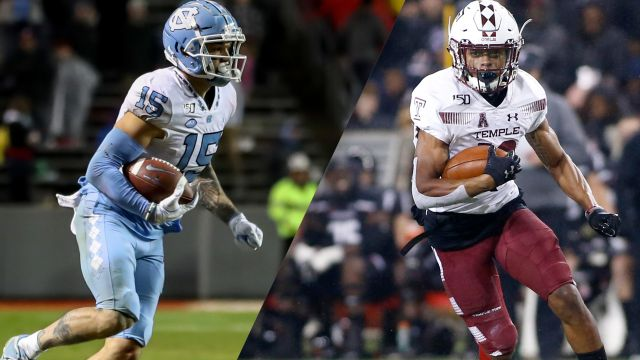 North Carolina vs. Temple (Bowl Game)