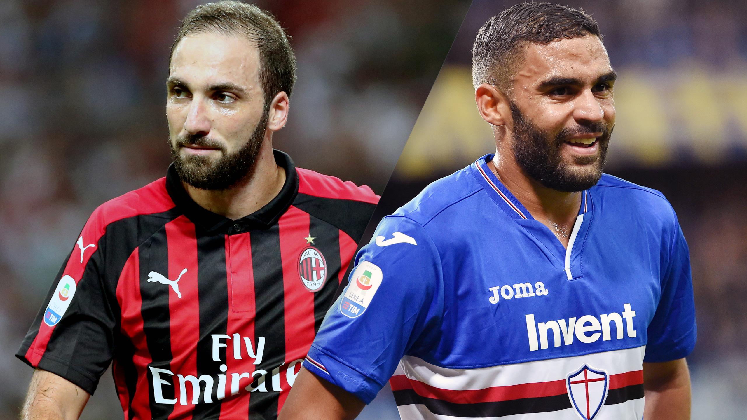 AC Milan vs. Sampdoria