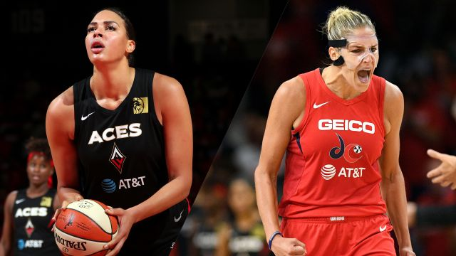 Thu, 9/19 - Las Vegas Aces vs. Washington Mystics (Semifinals, Game 2)