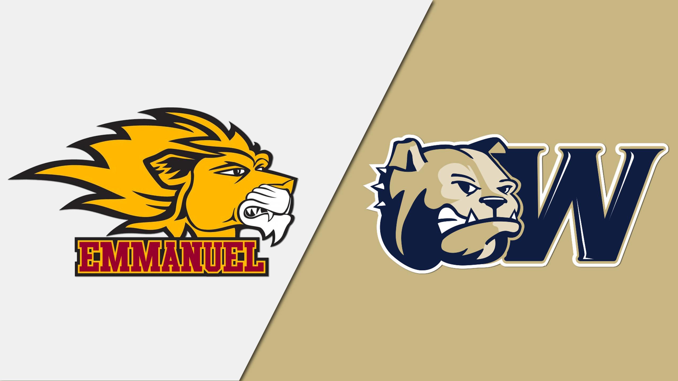 Emmanuel vs. Wingate (NCAA DII Women's Volleyball Southeast Regional Tournament)