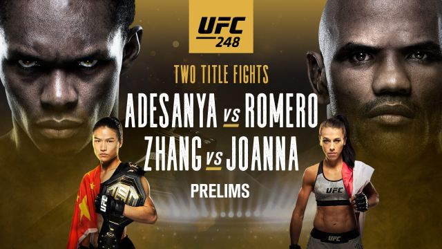 In Spanish - UFC 248: Adesanya vs. Romero (Prelims)