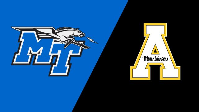 Middle Tennessee vs. Appalachian State