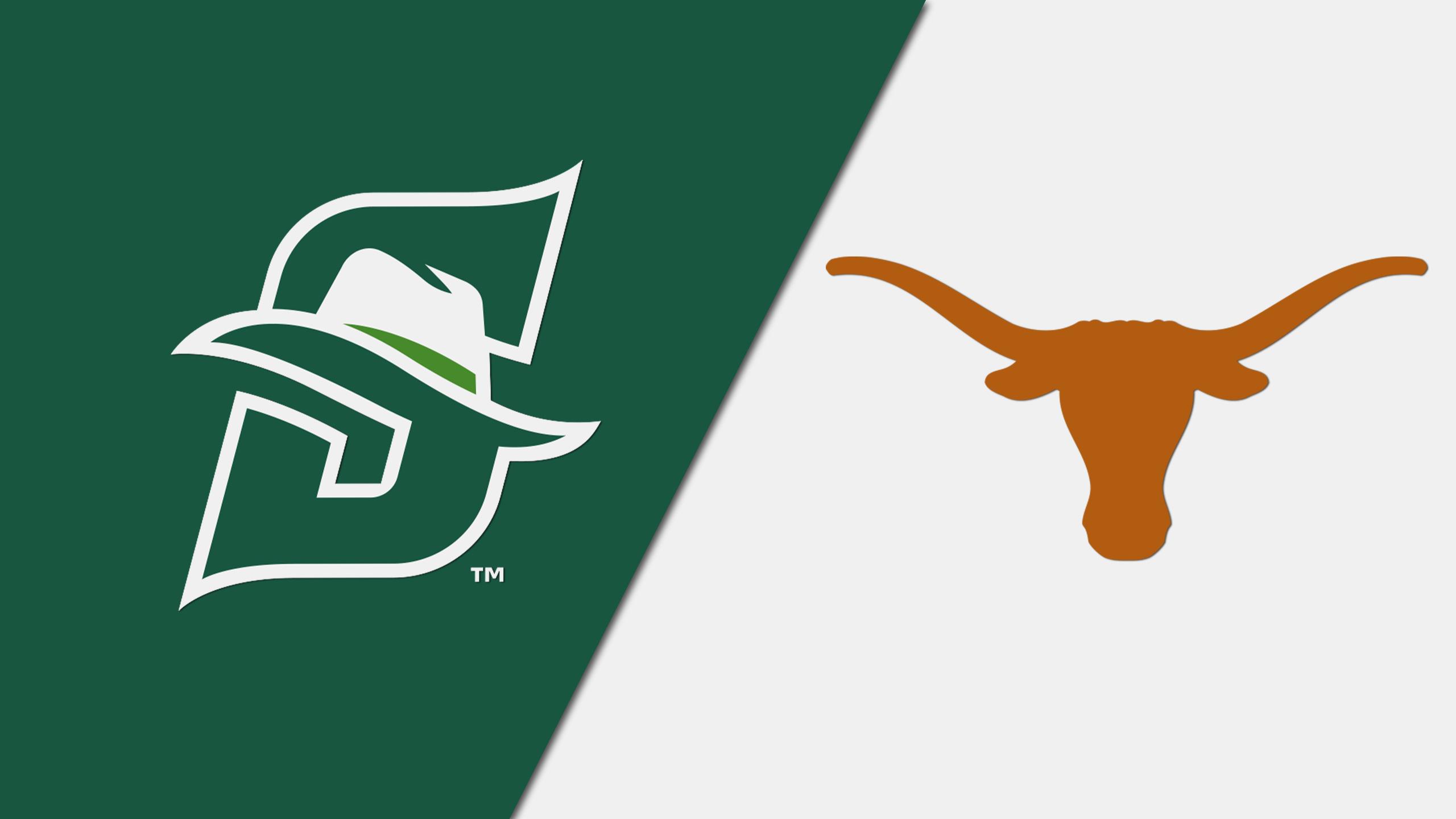 Stetson vs. #12 Texas (W Basketball) (re-air)