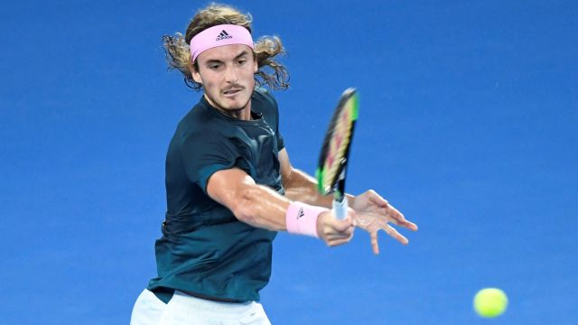 (6) Tsitsipas vs. Caruso (Men's First Round)