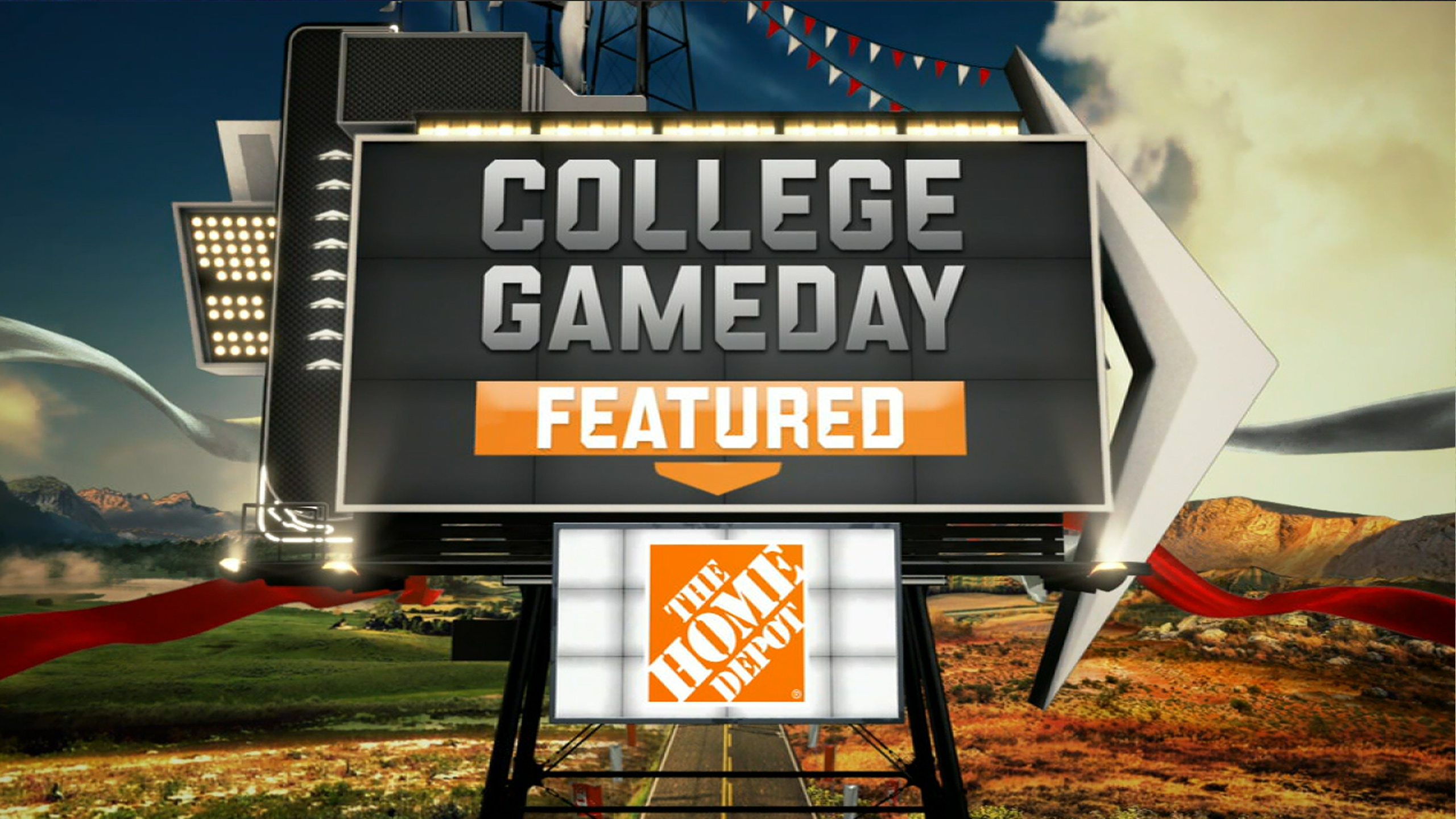 Sat, 12/15 - College GameDay Featured Built by The Home Depot