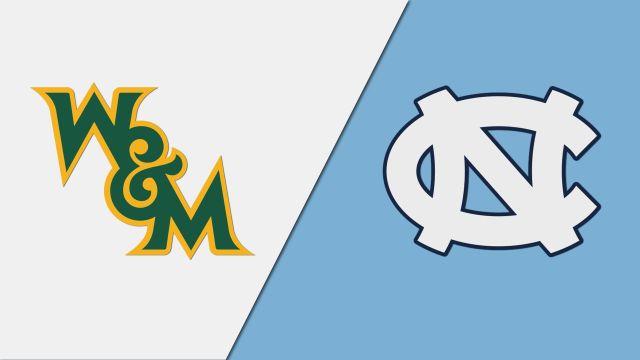 William & Mary vs. North Carolina