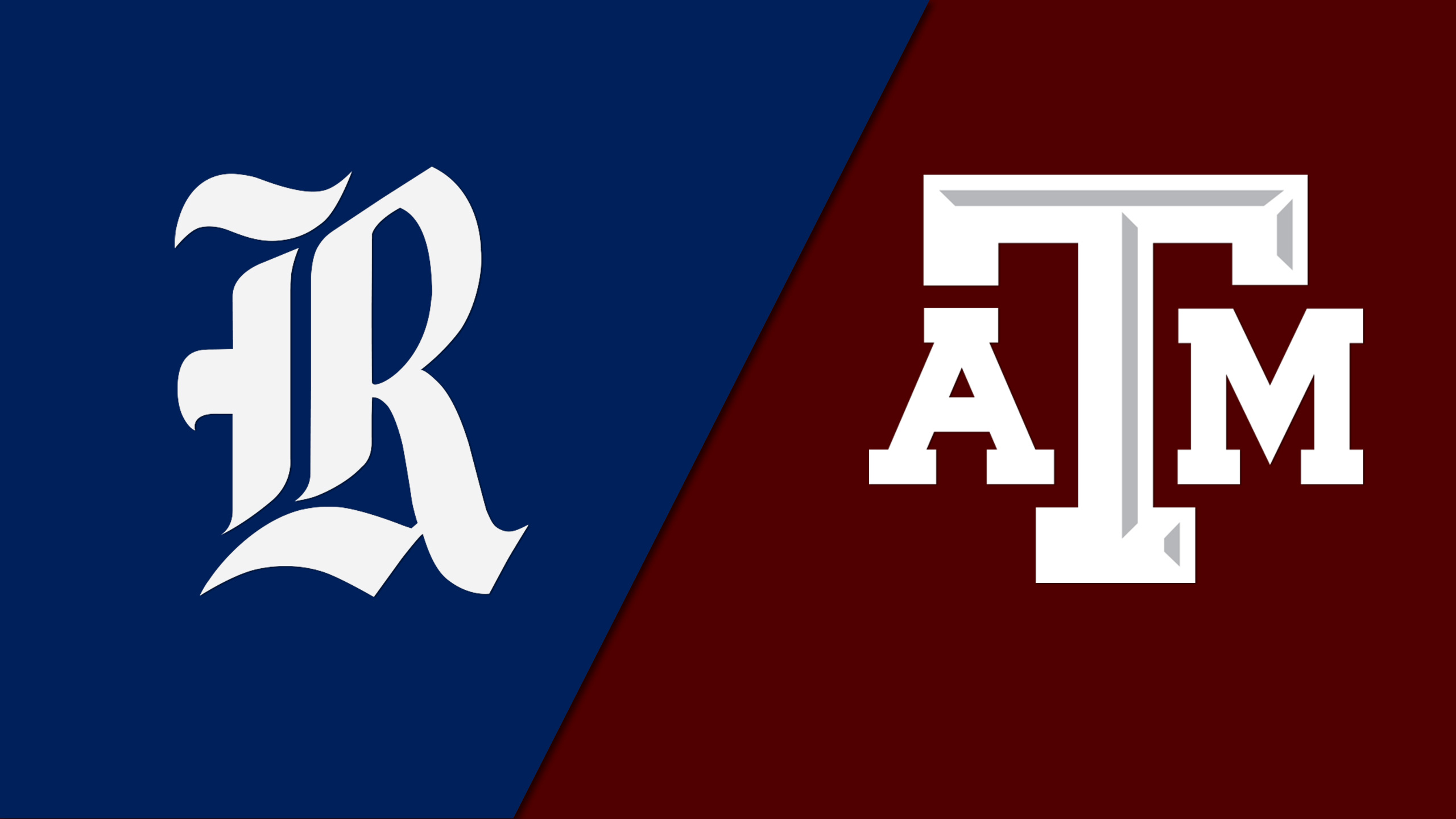 Rice vs. #18 Texas A&M (Baseball)