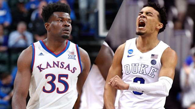 #3 Kansas vs. #4 Duke (M Basketball)