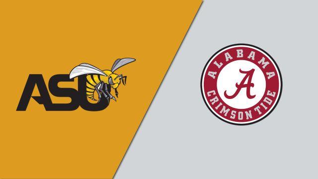 Alabama State vs. Alabama (Baseball)