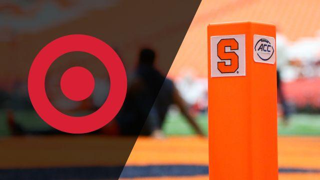 Target Command Center: CLEM vs. SYR (Football)