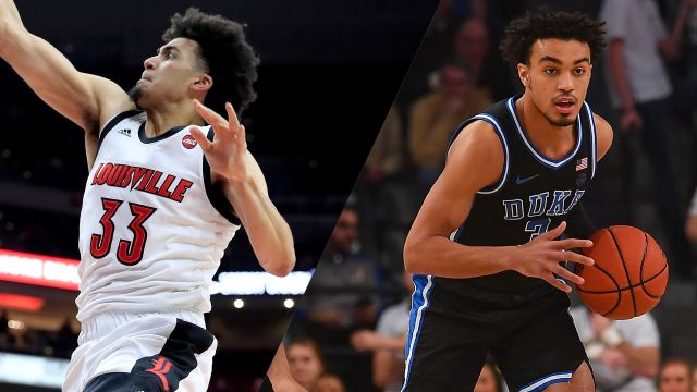 Sat, 1/18 - #11 Louisville vs. #3 Duke (M Basketball)
