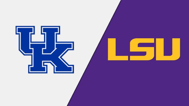 Kentucky Wildcats vs. LSU Tigers
