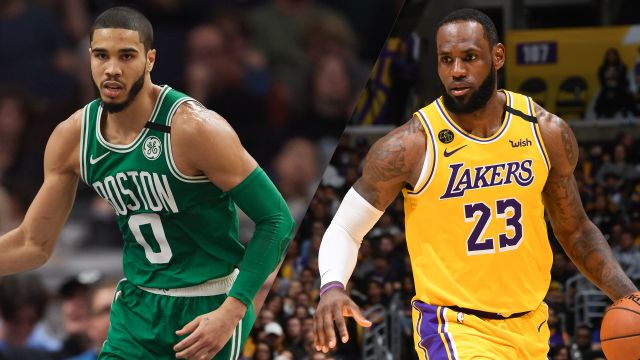 Sun, 2/23 - In Spanish-Boston Celtics vs. Los Angeles Lakers