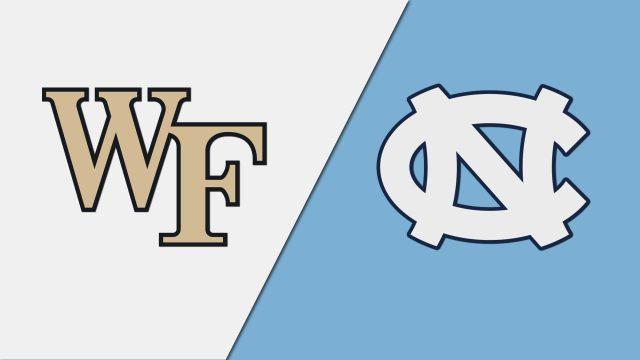Wake Forest vs. #1 North Carolina (W Soccer)
