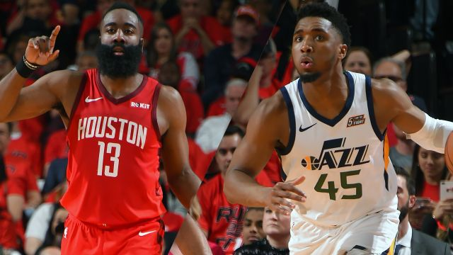 Houston Rockets vs. Utah Jazz (First Round, Game 3)
