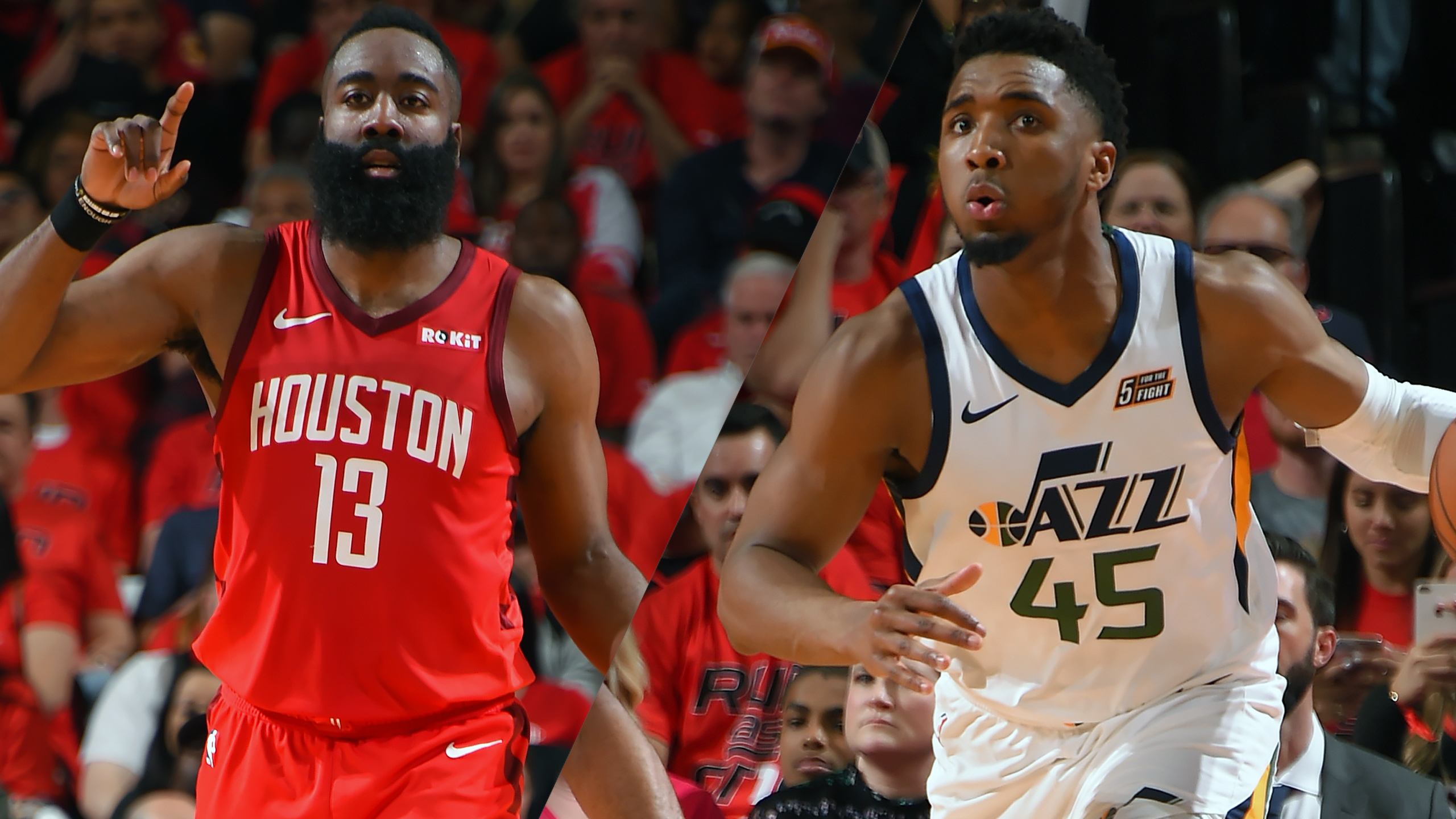 Houston Rockets vs. Utah Jazz (First Round, Game 3) (re-air)