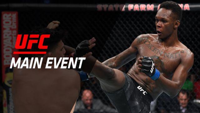 UFC Main Event: Gastelum vs. Adesanya
