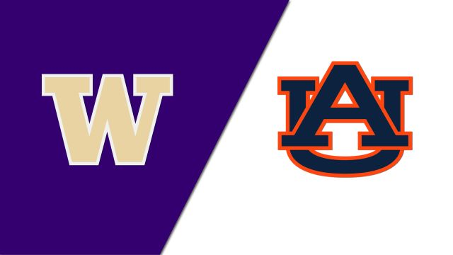 Washington vs. Auburn (re-air)