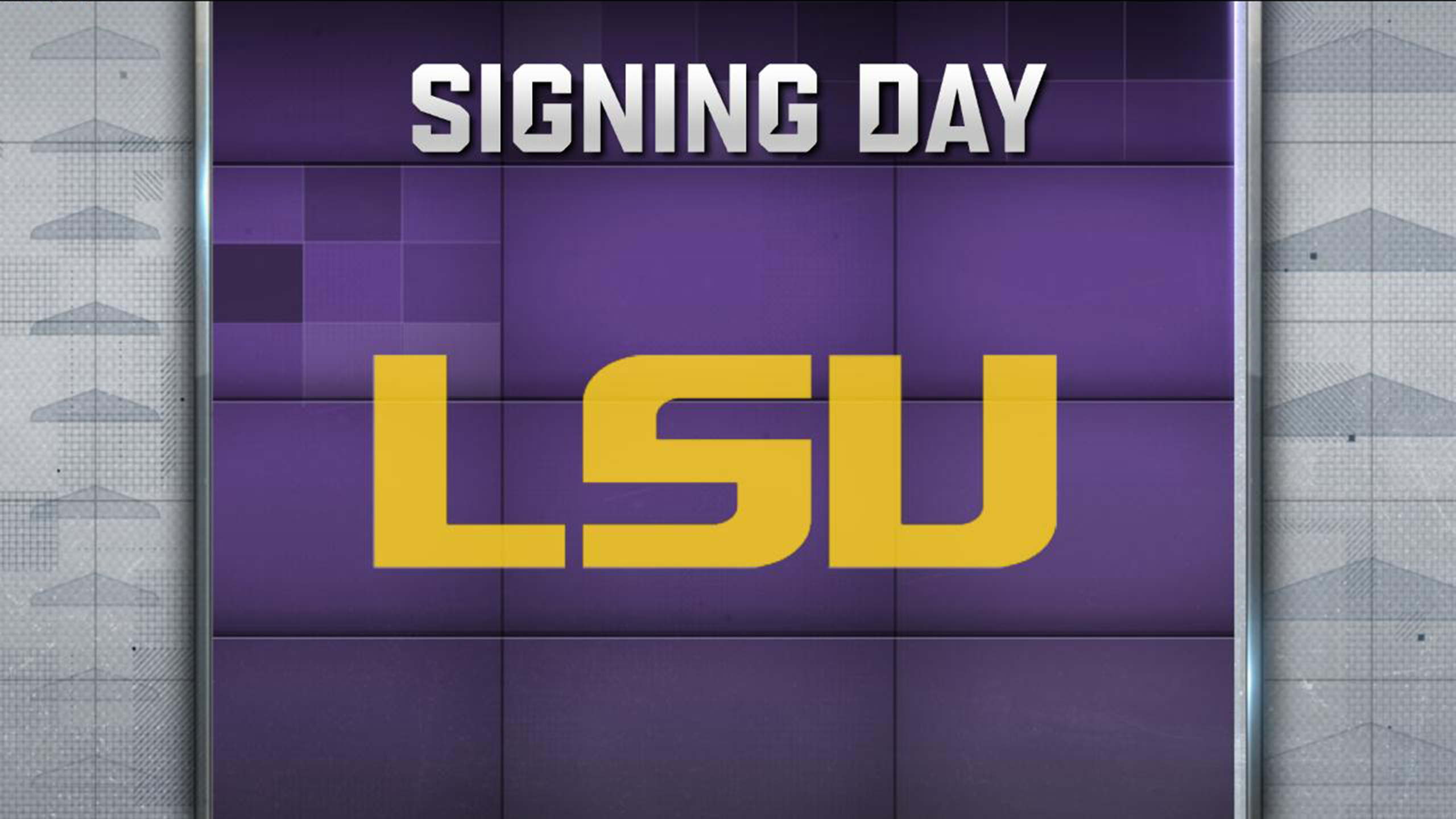 LSU Signing Day: Hold That Tiger