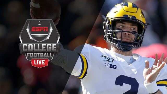 Fri, 10/18 - College Football Live Presented by Mazda
