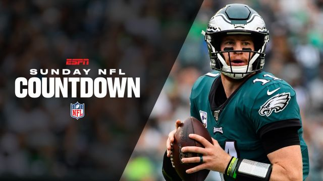 Sun, 10/13 - Sunday NFL Countdown Presented by Snickers