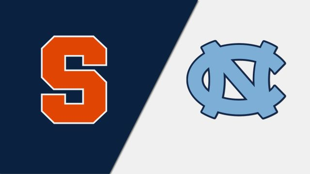 Syracuse Orangemen vs. North Carolina Tar Heels