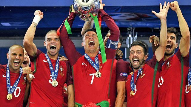 Após vencer a Euro, Portugal está pronto para Copa