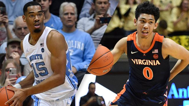 #7 North Carolina vs. #5 Virginia (M Basketball)