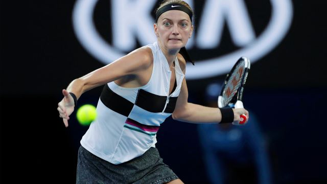 (7) Kvitova vs. Siniakova (Women's First Round)