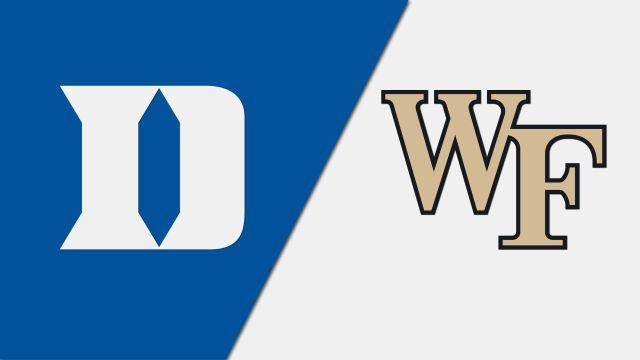 Duke vs. Wake Forest (W Soccer)