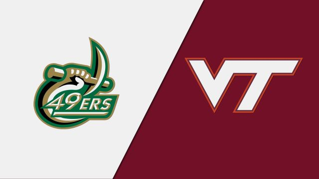 Charlotte vs. Virginia Tech (W Volleyball)