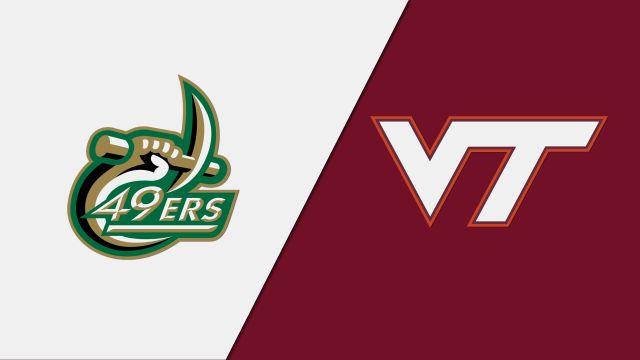 Charlotte vs. Virginia Tech (W Volleyball)