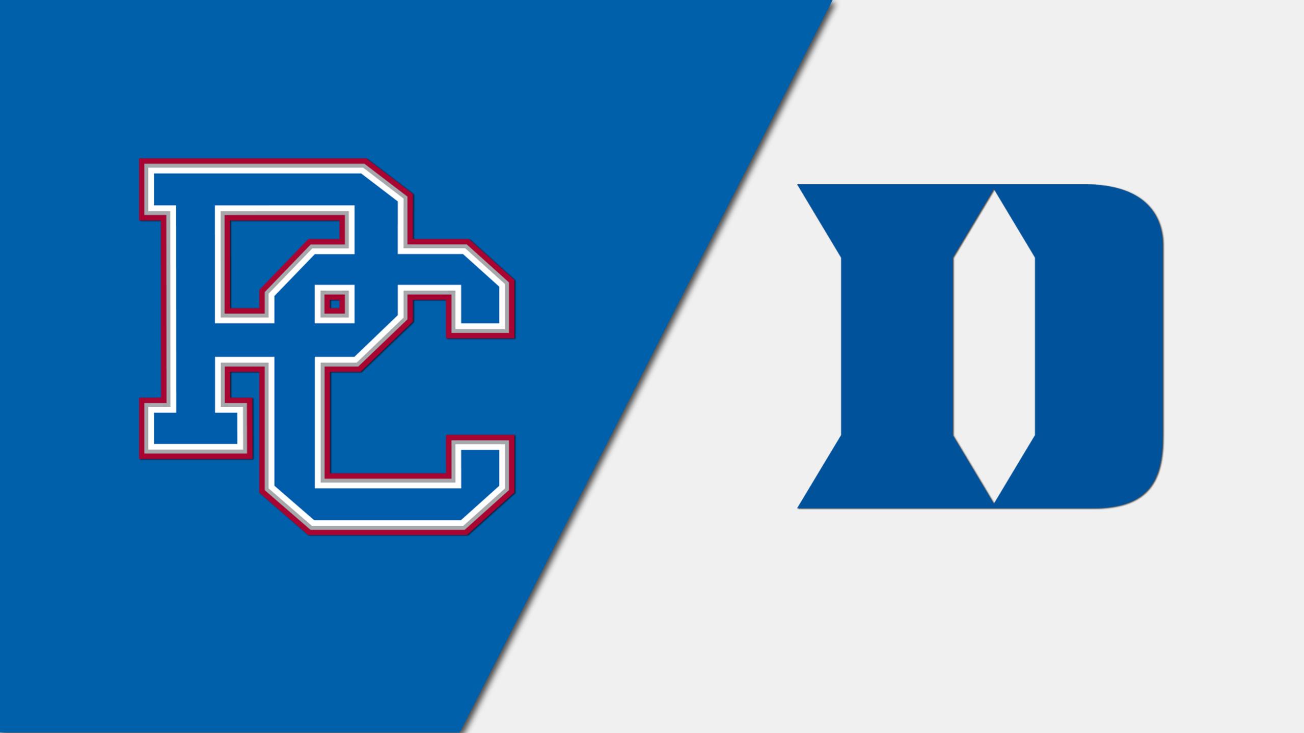 Presbyterian vs. #16 Duke (W Lacrosse)