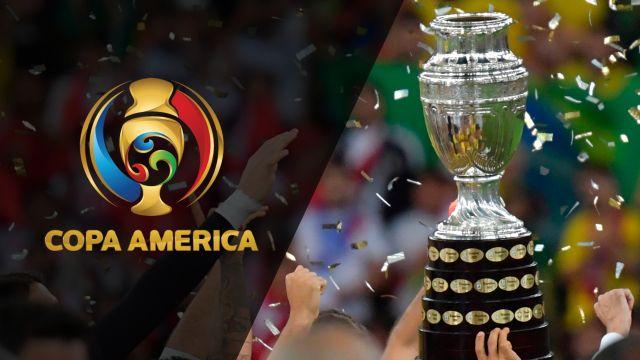 In Spanish - Copa America 2020 Draw