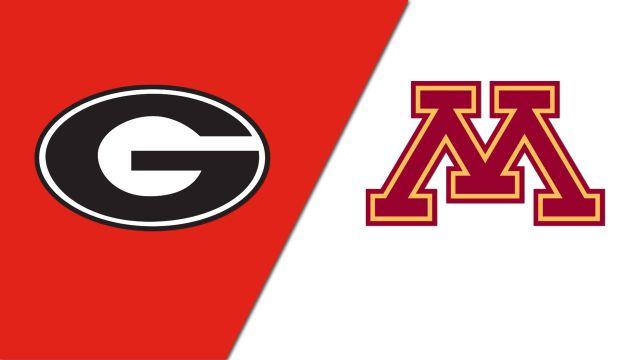 Georgia vs. #7 Minnesota (Site 6 / Game 3) (NCAA Softball Regionals)
