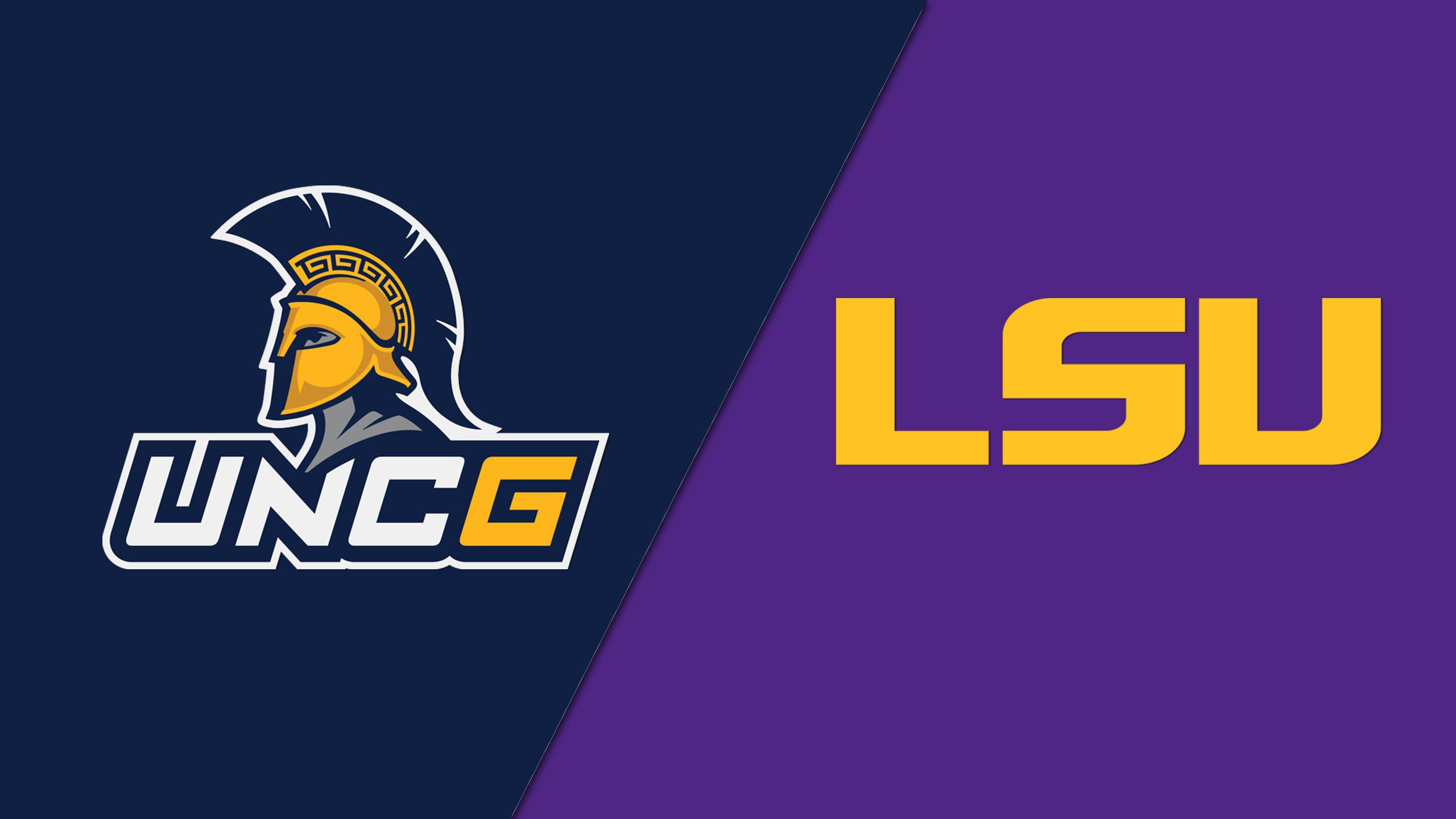 UNC Greensboro vs. #23 LSU (M Basketball)