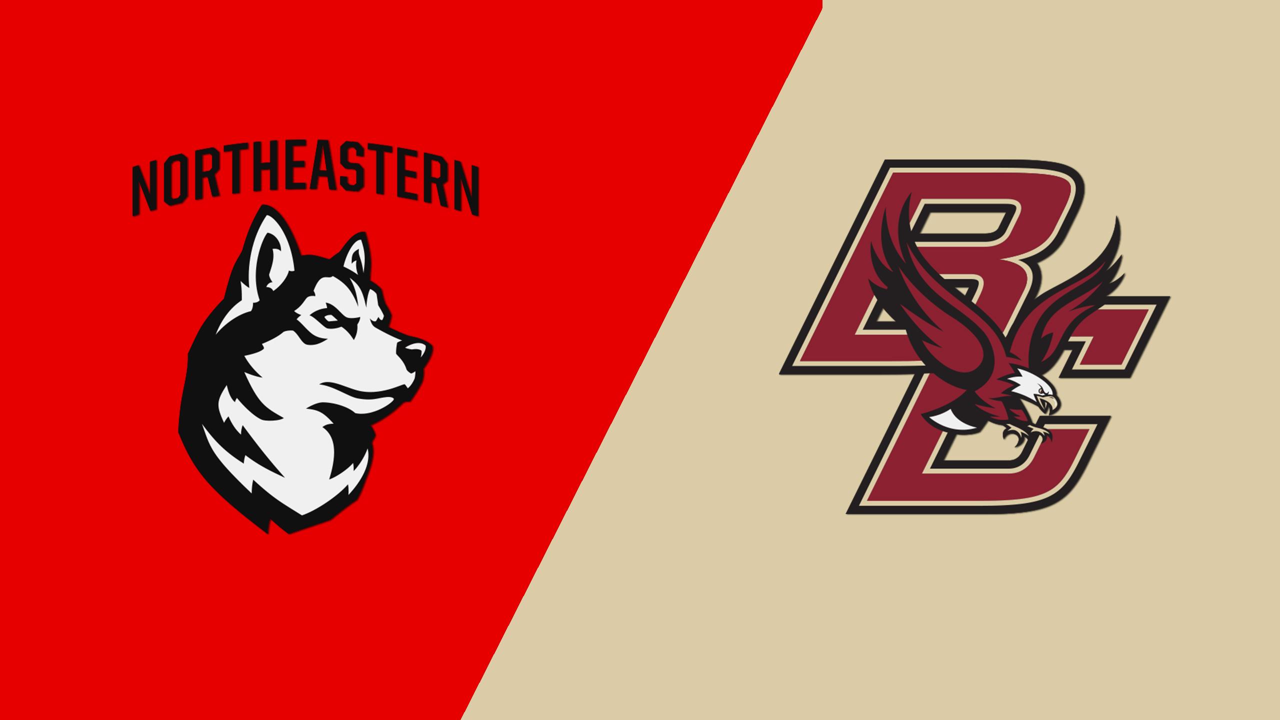 #3 Northeastern vs. #10 Boston College