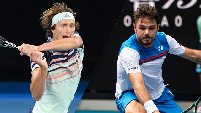 (7) Zverev vs. (15) Wawrinka (Men's Quarterfinals)