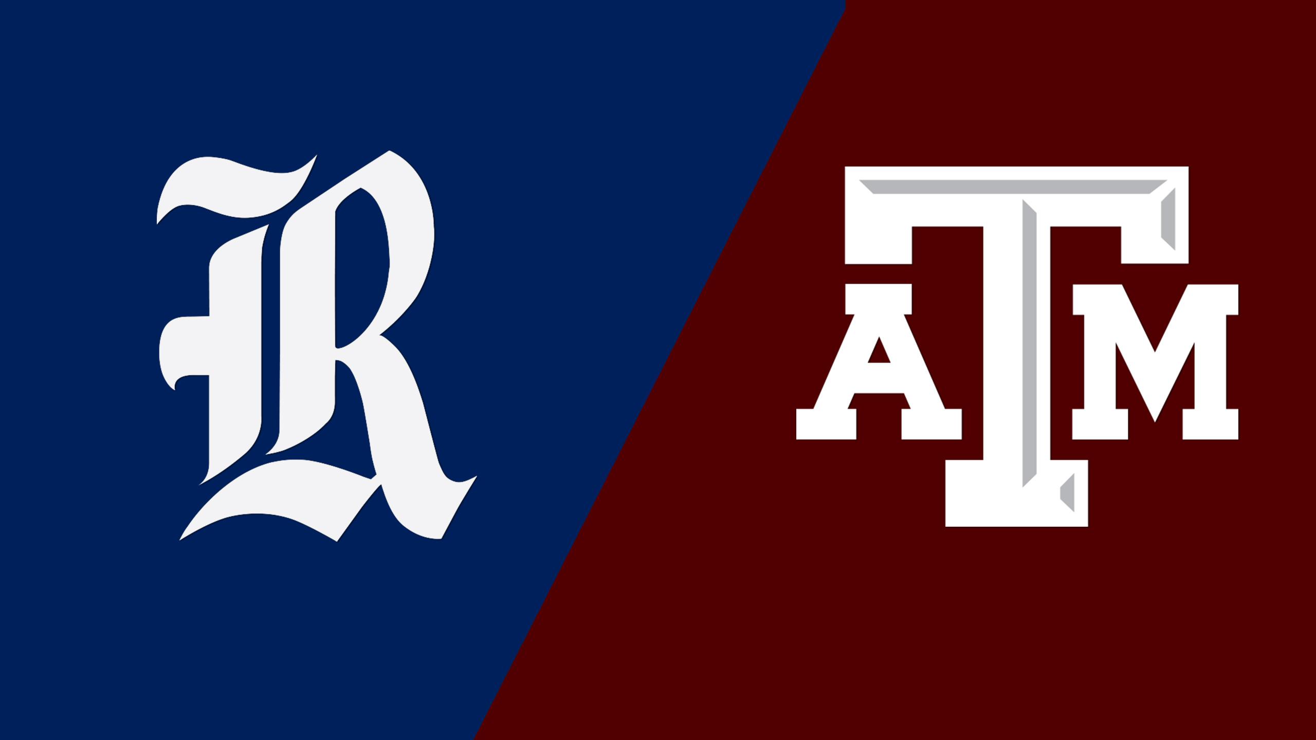 Rice vs. #20 Texas A&M (W Basketball)