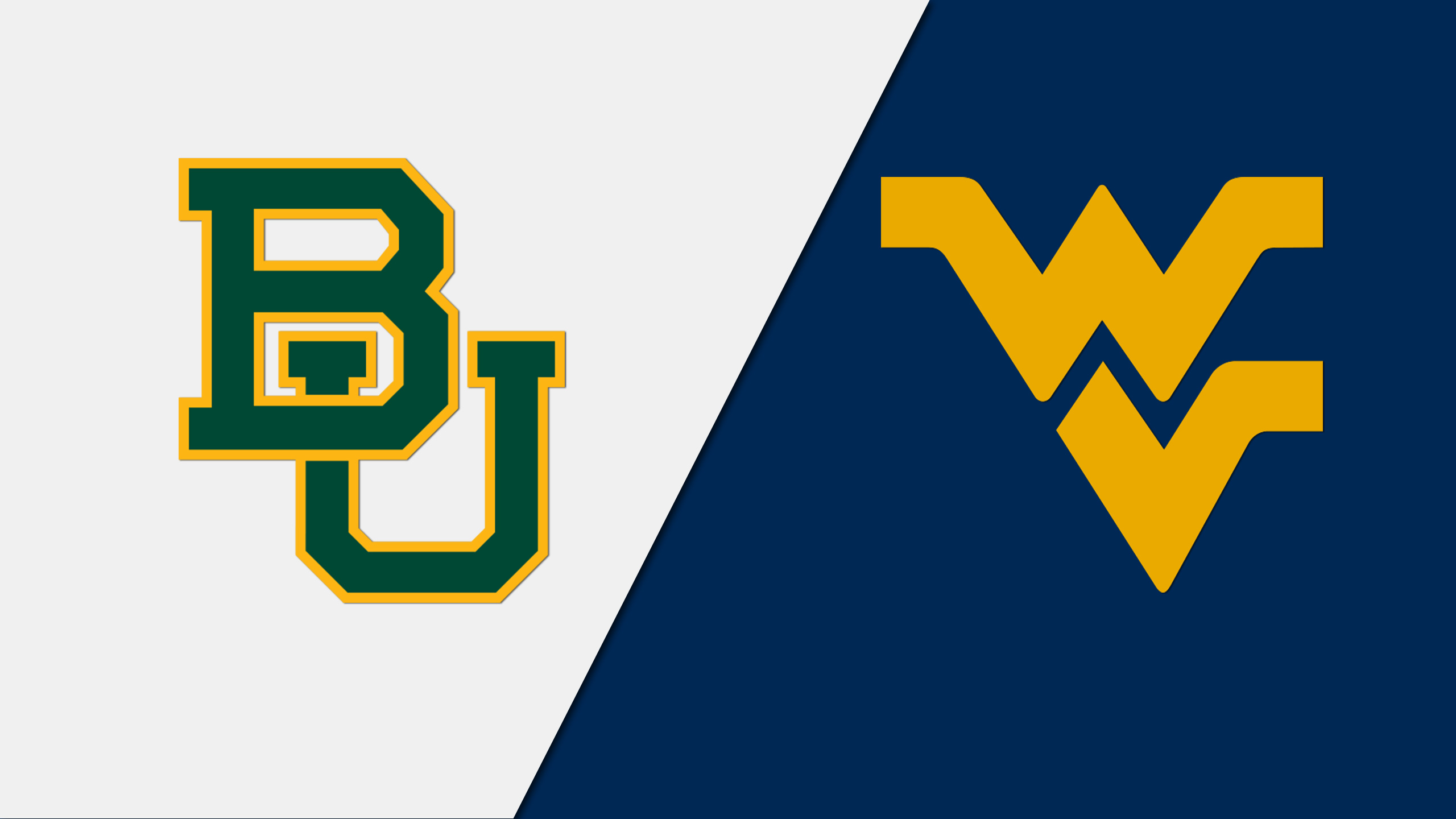 Baylor vs. West Virginia (M Basketball) (re-air)