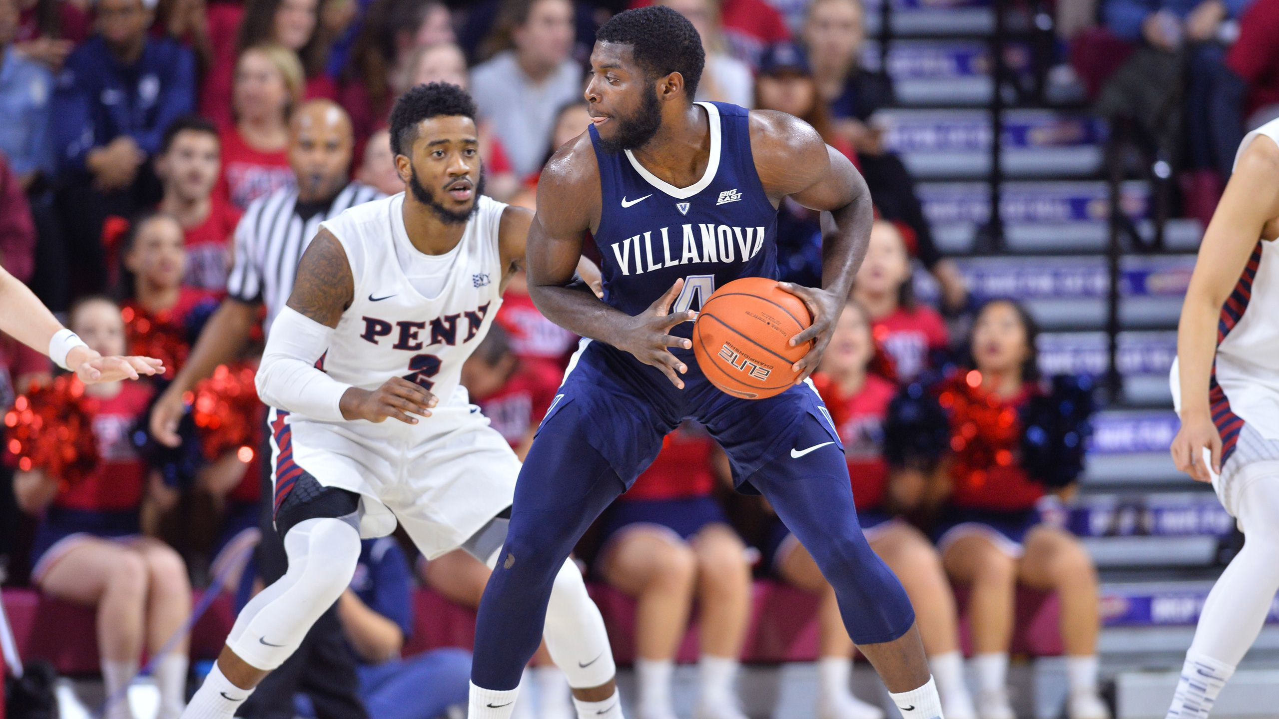 #17 Villanova vs. Pennsylvania (M Basketball) (re-air)