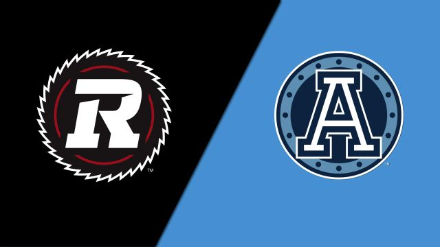 Ottawa Redblacks vs. Toronto Argonauts (Canadian Football League)