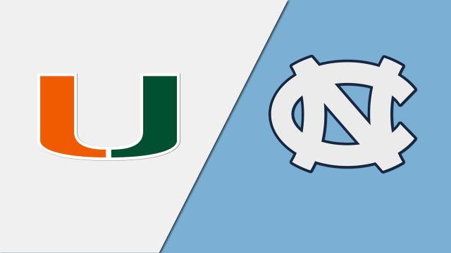 Miami vs. North Carolina (W Basketball)