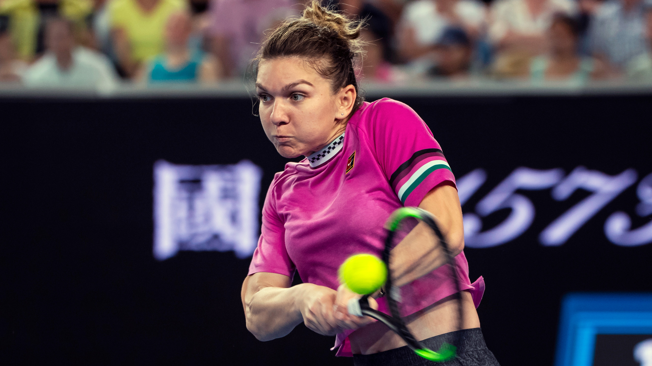 (1) Halep vs. Kenin (Women's Second Round)