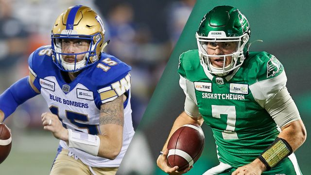Winnipeg Blue Bombers vs. Saskatchewan Roughriders (Western Final) (Canadian Football League)