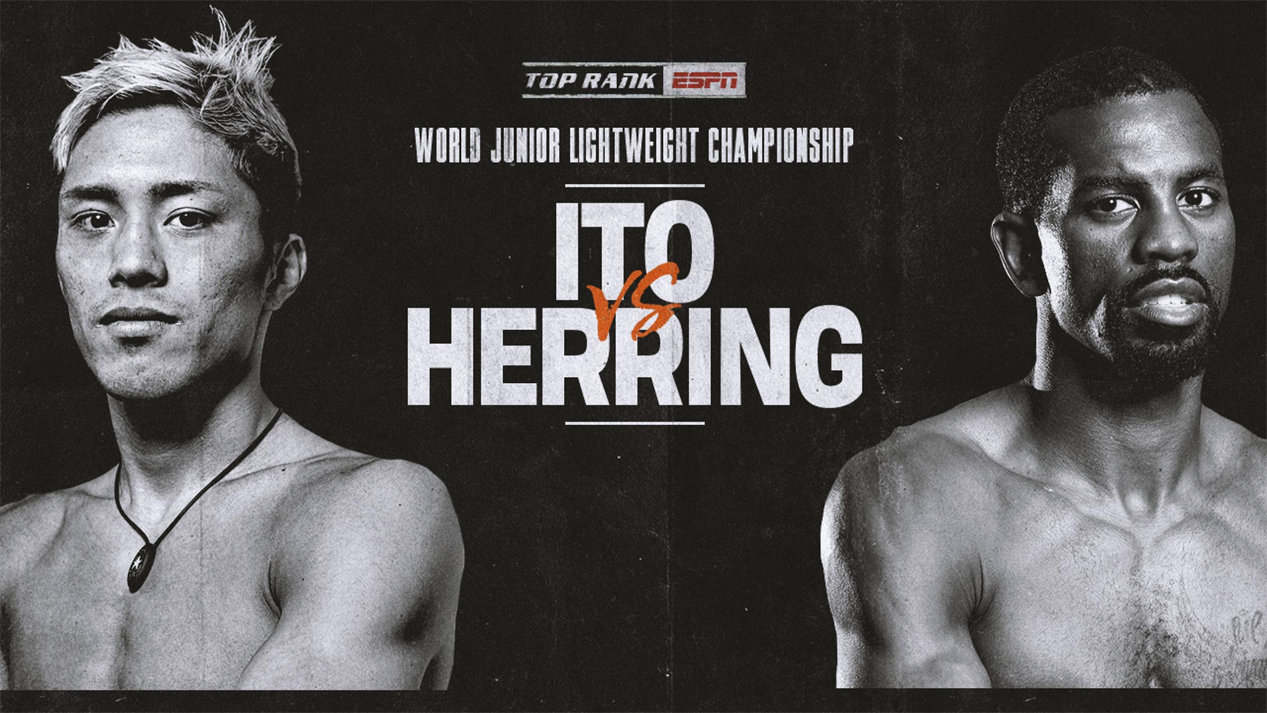 Masayuki Ito vs. Jamel Herring (re-air)