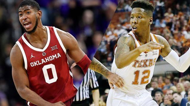 Oklahoma vs. Texas (M Basketball)