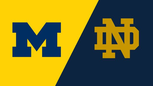 Michigan vs. Notre Dame (W Volleyball)